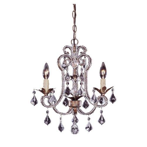 Wildon Home ® 3 Light Mini Chandelier