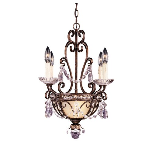 Wildon Home ® 6 Light Mini Chandelier with Accent