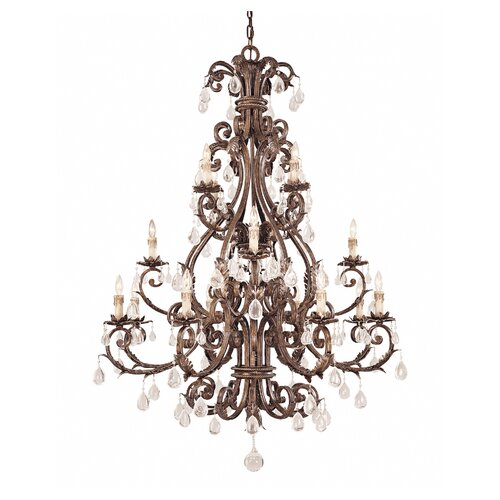 Wildon Home ® Reed 16 Light Chandelier