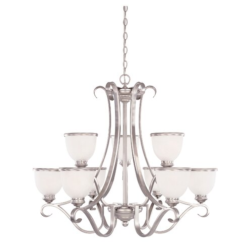 Savoy House Akers 9 Light Chandelier