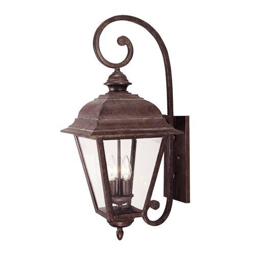 Wildon Home ® Albany 3 Light Outdoor Wall Lantern