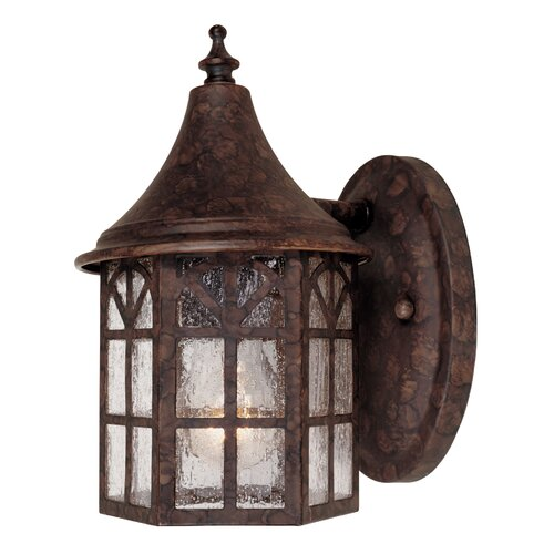 Wildon Home ® Hartley 1 Light Outdoor Wall Lantern