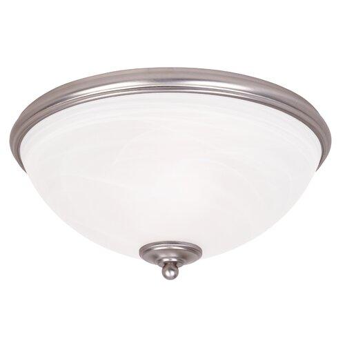 Wildon Home ® Akers 2 Light Flush Mount