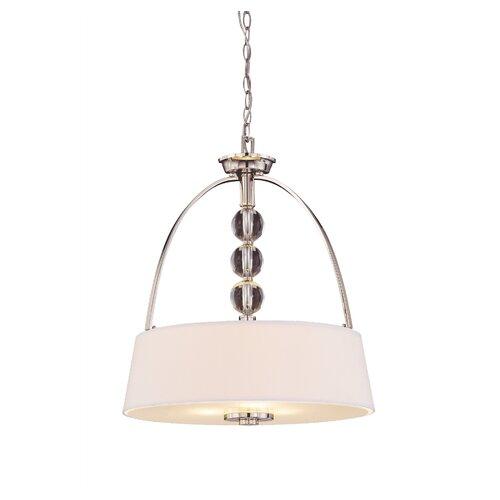 Wildon Home ® Florence 3 Light Drum Pendant
