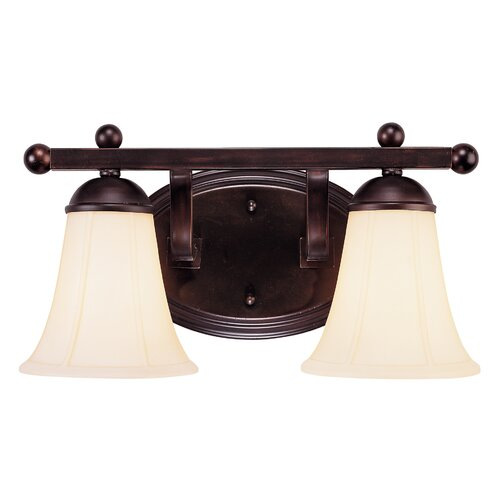 Wildon Home ® Vanguard  2 Light Vanity Light