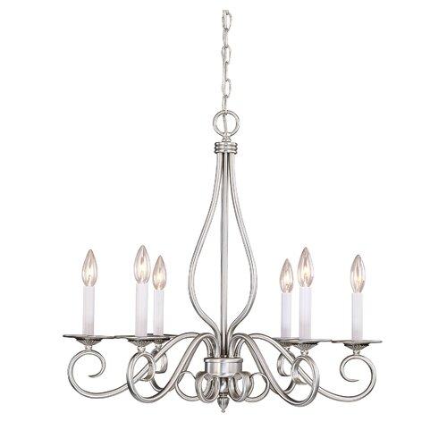 Wildon Home ® Cooney 6 Light Chandelier