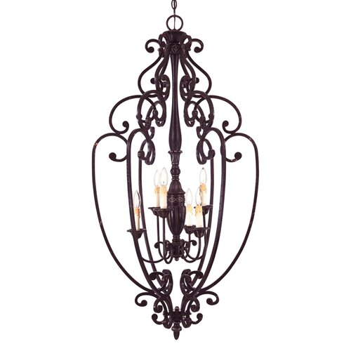 Wildon Home ® Texoma 6 Light Foyer Pendant