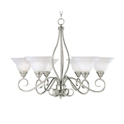 Wildon Home ® Polar 6 Light Chandelier