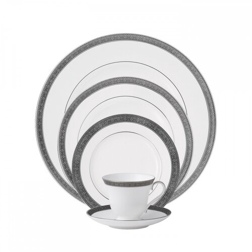 Newgrange Platinum 5 Piece Place Setting