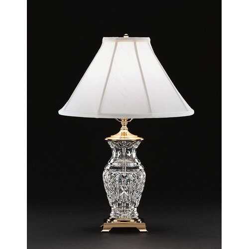 Kingsley 22 h table lamp with bell shade wayfair for Table lamps under 50