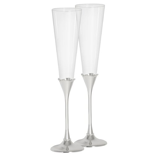 Lismore Bead Champagne Flute (Set of 2)
