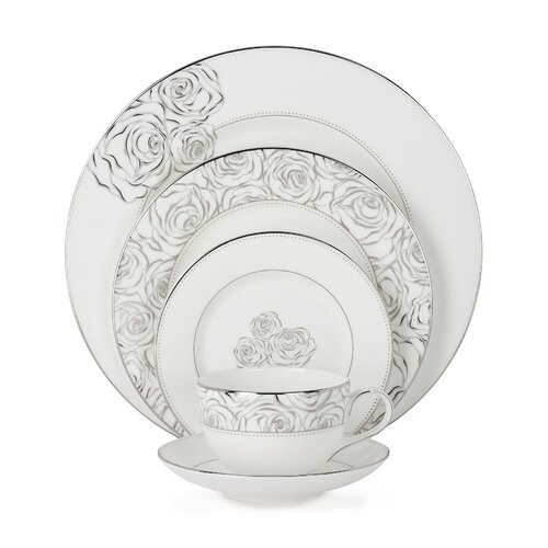 Sunday Rose 5 Piece Place Setting