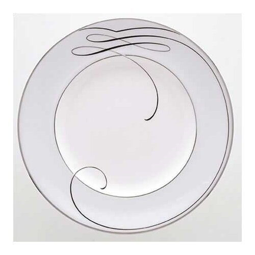 "Waterford Ballet Ribbon 9"" Accent Plate"