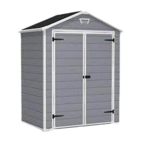 "Keter Manor 3' W x 6'1"" D Plastic Tool Shed"