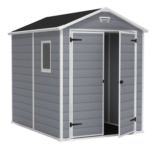 Keter Manor 6ft. x 7.42ft. Plastic Tool Shed