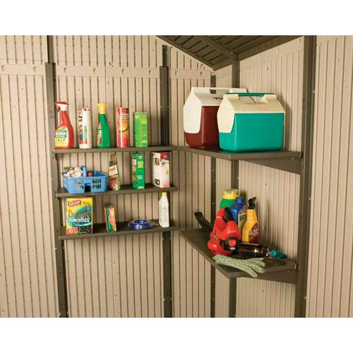 Lifetime 10ft. W x 13ft. D Plastic Storage Shed