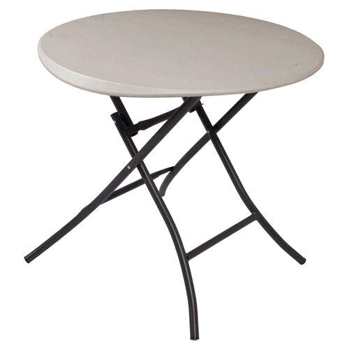 "Lifetime 33"" Round Folding Table"