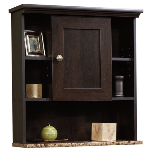 "Sauder Peppercorn 23.25"" x 24.63"" Wall Mounted Cabinet"