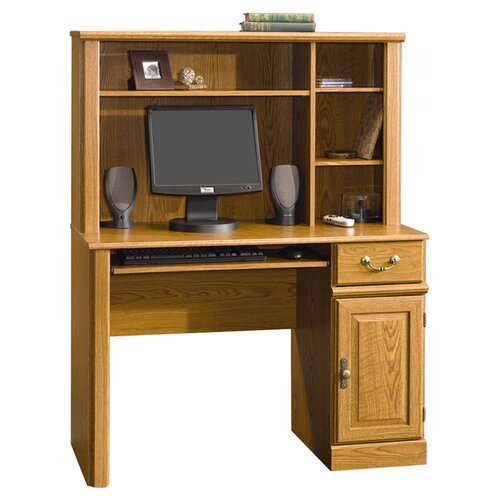 "Sauder Orchard Hills 57"" Computer Desk with Hutch"