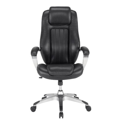 Gruga Solace Pennant High-Back Leather Executive Office Chair
