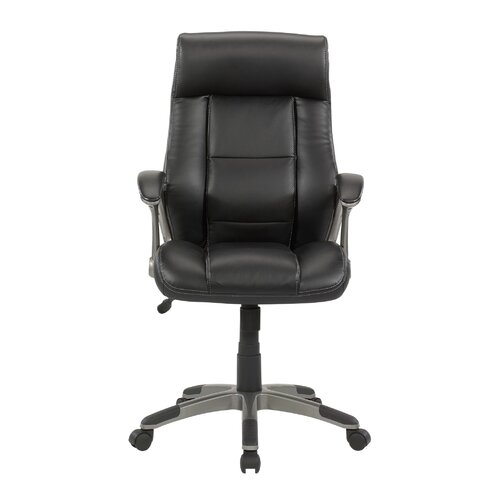 Gruga Manager's Mid-Back Leather Executive Office Chair