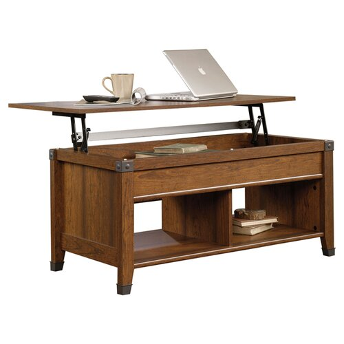 Sauder Carson Forge Lift Top Coffee Table