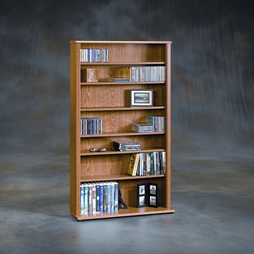 Sauder Orchard Hills Multimedia Storage Rack