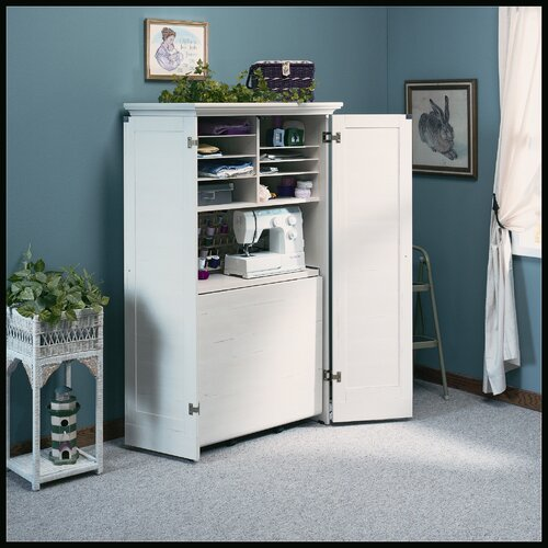 Sauder harbor view 35 5 quot craft combination cabinet amp reviews wayfair