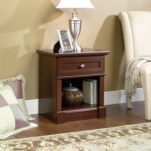 Sauder Palladia 1 Drawer Nightstand