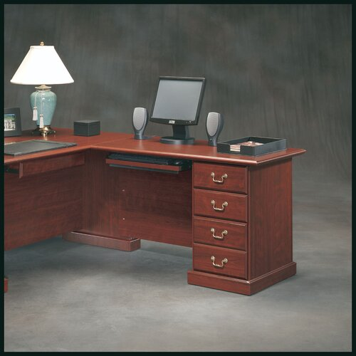 "Sauder Heritage Hill  29.68"" H x 47.48"" W Reversible Desk Return"