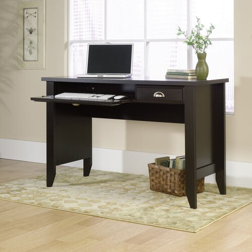 Sauder Shoal Creek Computer Desk with Keyboard Tray