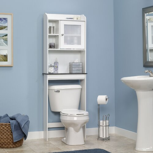 "... Caraway 23.25"" x 68.13"" Over the Toilet Cabinet & Reviews 