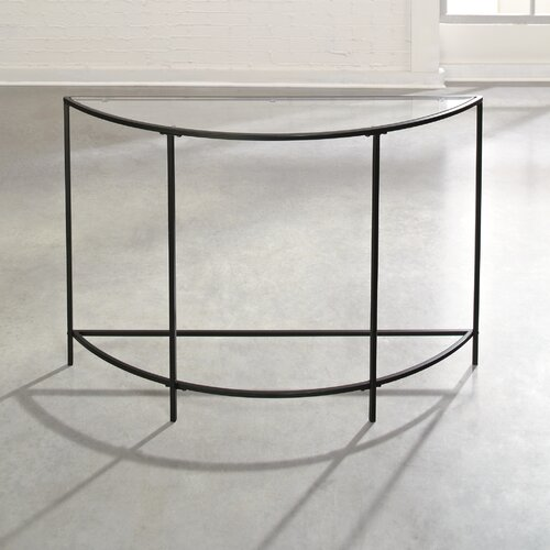 Soft Modern Console Table