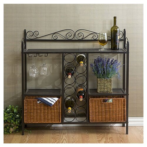 Wildon Home ® Scout Scrolled Bistro Server