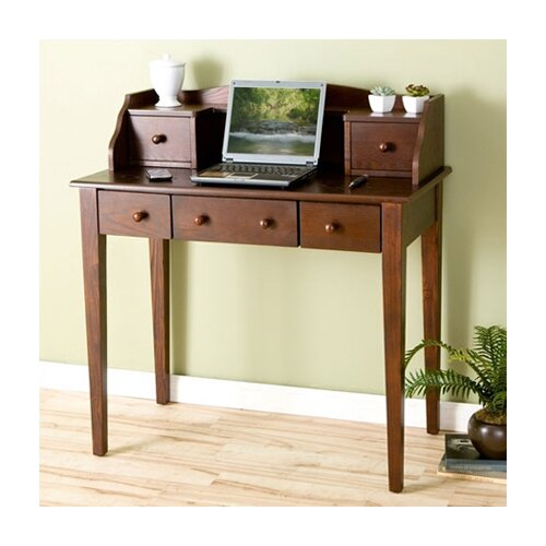 Wildon Home ® Mashie Espresso Computer Desk