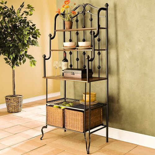 Wildon Home ® Addington Storage Baker's Rack