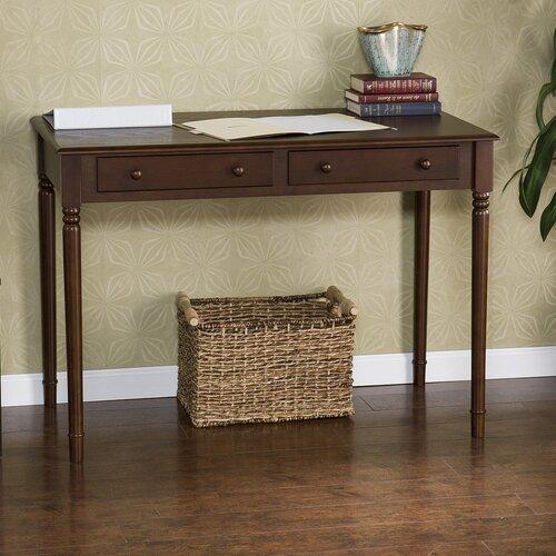 Wildon Home ® Farron Writing Desk in Espresso