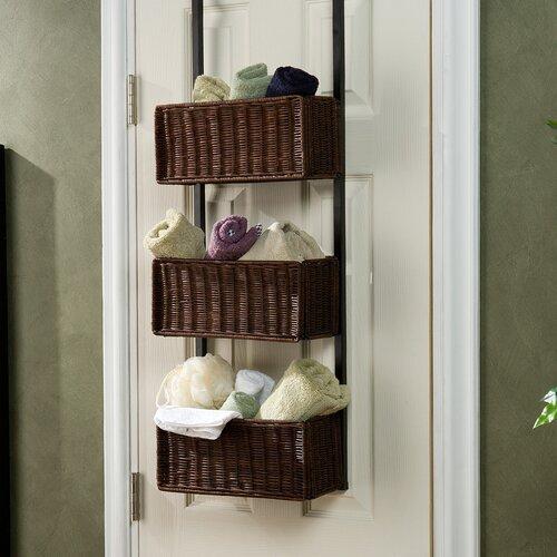 Lynbar Over the Door 3-Tier Basket Storage