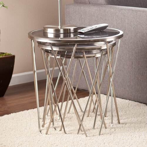 Wildon Home ® Sabina 3 Piece Nesting Tables