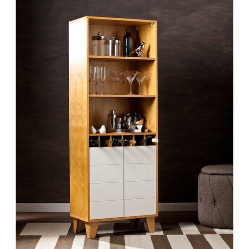 Wildon Home ® Peralta 8 Bottle Wine Cabinet
