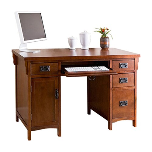 Wildon Home ® Collins Mission Computer Desk