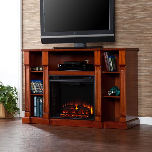 """Wildon Home ® Caswell 52"""" TV Stand with Electric Fireplace"""