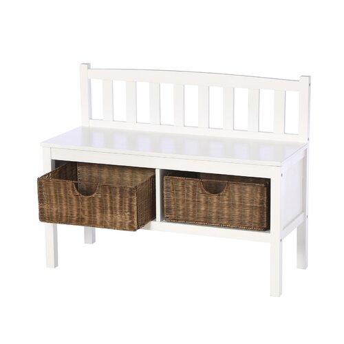 Wildon Home ® Harrison Wood Storage Bench