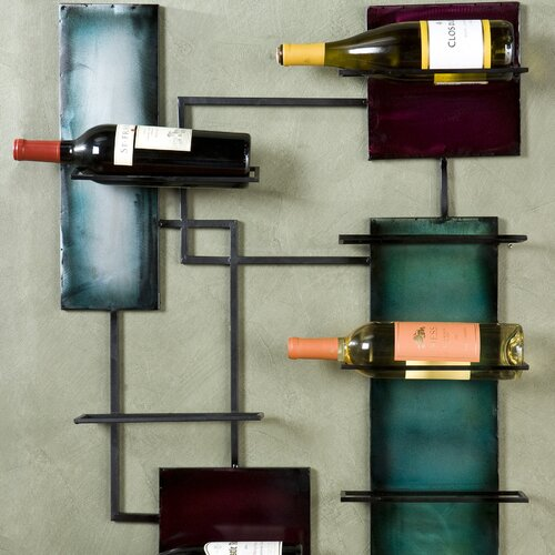 Wildon Home ® Ravenel 8 Bottle Wall Mounted Wine Rack
