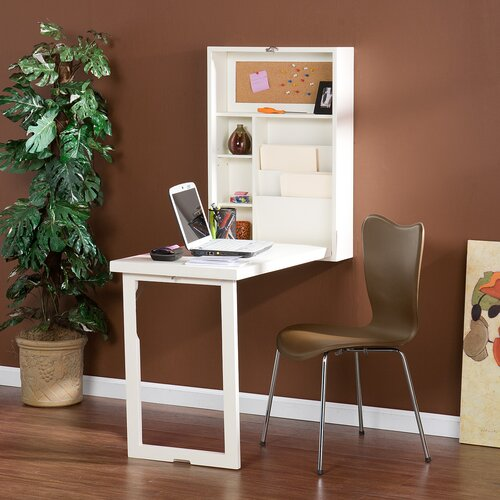 Wildon Home ® Adams Fold Out Convertible Floating Desk