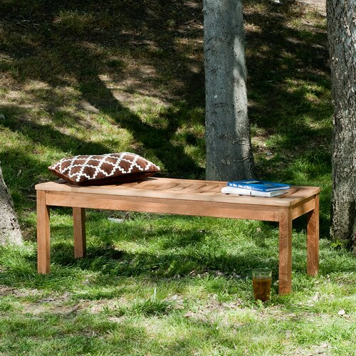 Wildon Home ® Teak Picnic Bench