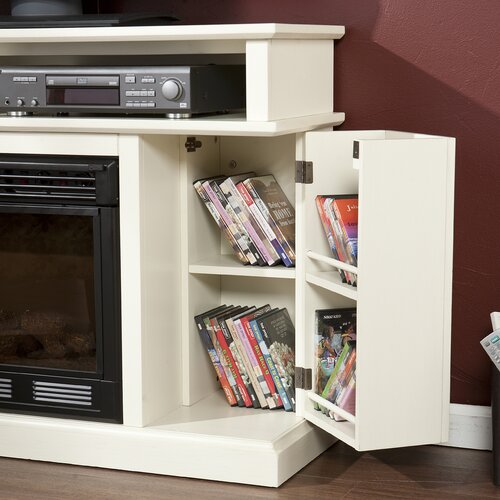 "Wildon Home ® Julian 48"" TV Stand with Electric Fireplace"