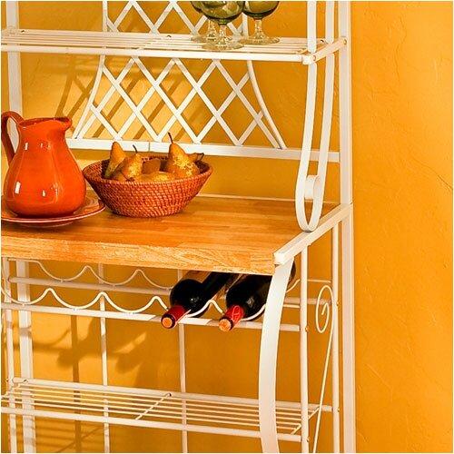 Wildon Home ® Quincy Trellis Baker's Rack