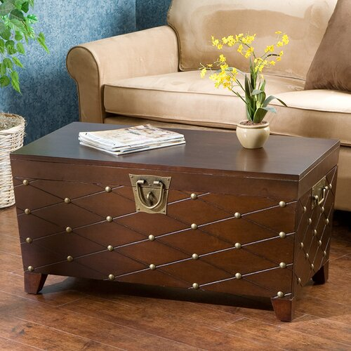 Wildon Home ® Calvert Trunk Coffee Table with Lift-Top