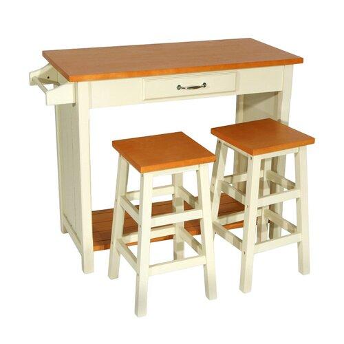 Wildon Home ® Lisle 3 Piece Dining Set